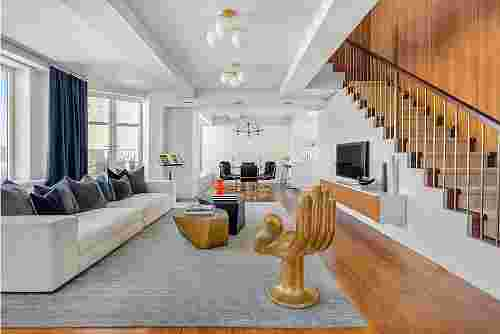Keith Richard's Greenwich Village Penthouse