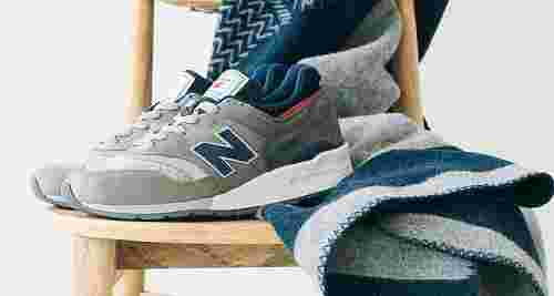 Woolrich x New Balance 997 Collaboration