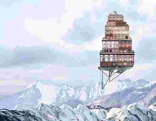 Matthias Jung, Architectual Collages