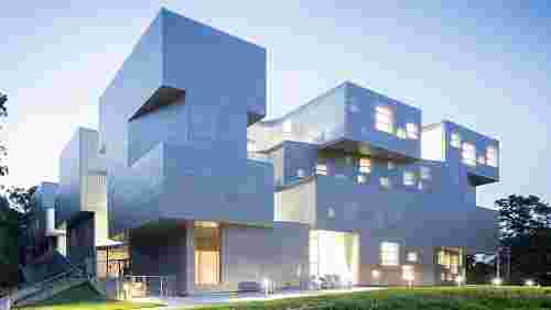 Steven Holl's University of Iowa Visual Arts Building