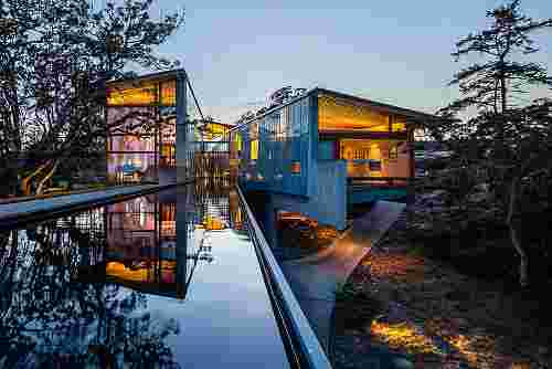 Canyon River House, Metchosin, British Columbia