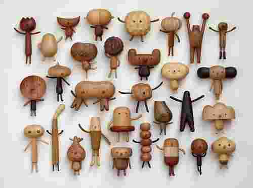 Wooden Toys by Jui Lin Yen