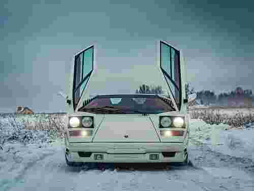 1991 Lamborghini Countach 25th Anniversary
