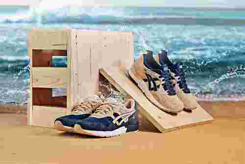 "ASICS ""Beach Pack"" GEL-Lyte and GEL-Lyte V"