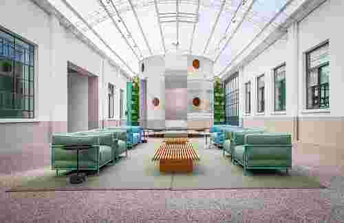Cassina's HQ Renovated