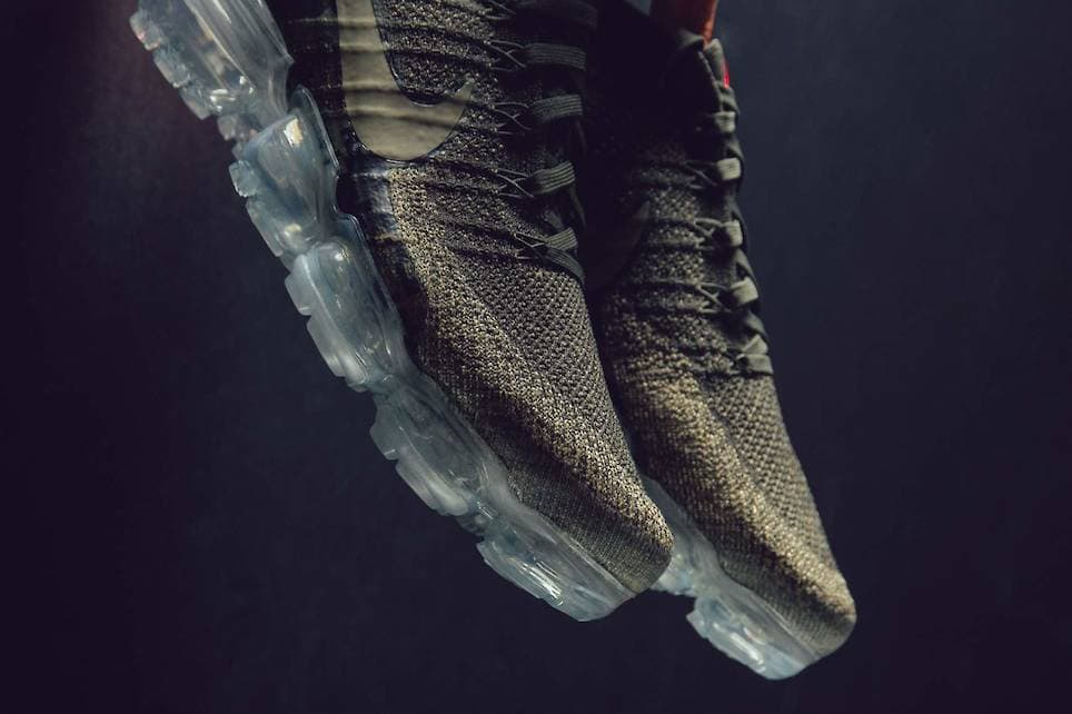 a804cf0f8590 Nike presents a new neutral olive rendition to their Vapormax for the up  and coming spring season. Learn more at featuresneakerboutique.com