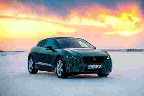 Jaguar All-Electric I-Pace SUV
