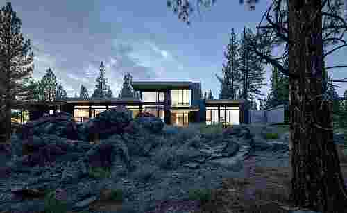 Creek House, Truckee, California