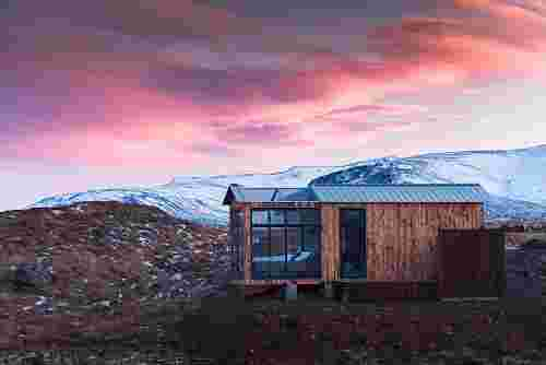 Panorama Glass Lodge, Iceland