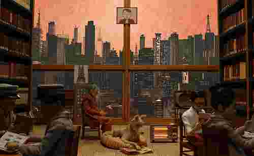 Wes Anderson's set design for the Isle of Dogs