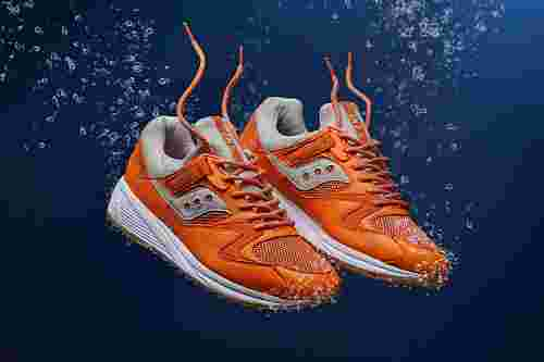 END x Saucony Grid 8500 'Lobster'
