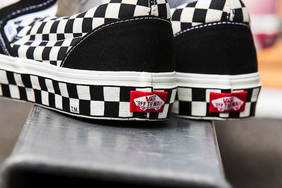 Exclusive Pack of Checkered Vans Slip-Ons