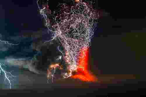 Francisco Negroni, Volcanic Eruption