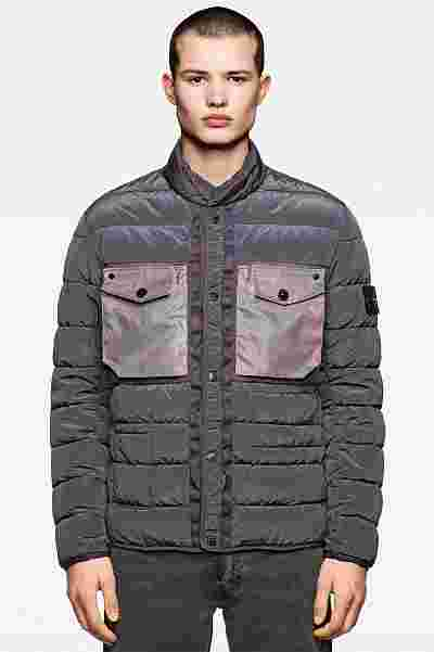 Stone Island Harris Tweed Polymorphic Ice Collection
