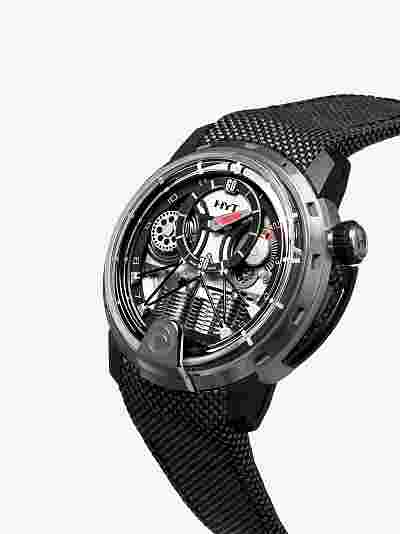 HYT Silk Satin H1 Alinghi Watch