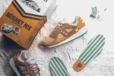 Politics x Saucony x Cafe Du Monde Shadow 5000