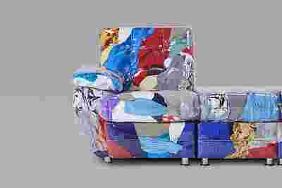 Balenciaga x Harry Nuriev Discarded Clothing Sofa