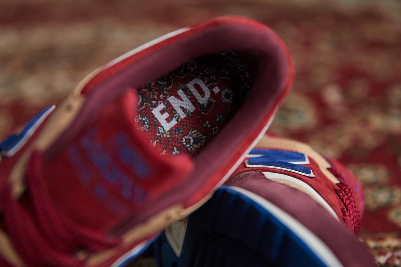 End X New Balance M997end Made In Usa Persian Rug
